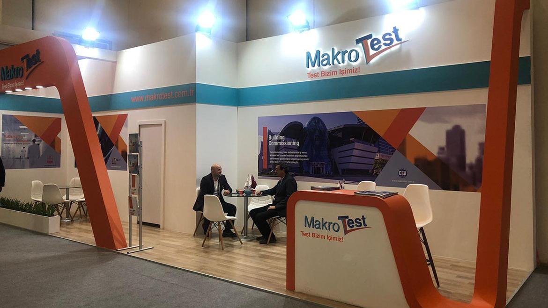 Makro Test ISK-SODEX 2019'de Yerini Aldı