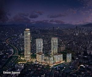 EMAAR Square (3 Rezidans Bloğu, 2 Yüksek Katlı Bina)