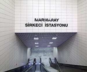 Marmaray Sirkeci Metro İstasyonu